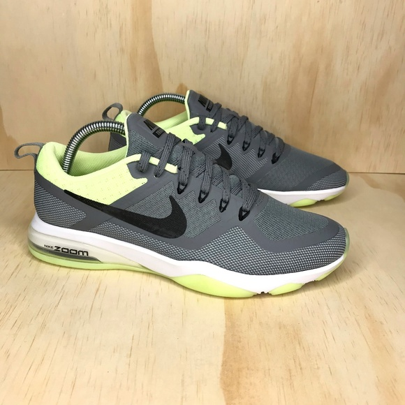 Nike Shoes   New Nike Air Zoom Fitness Cool Gray Green   Poshmark